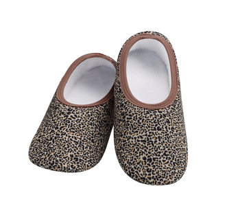 Snoozies Slippers Leopard Large