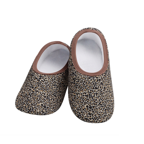 Snoozies Snoozies Slippers Leopard Large