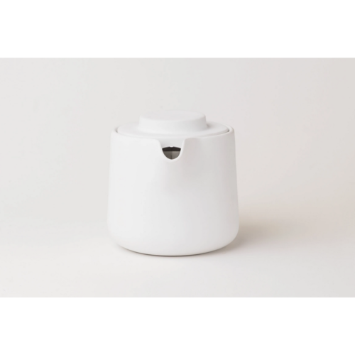 HEADCORR Two-in-One Drip Coffee & Teapot classic white