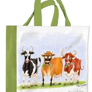 Samuel Lamont Cheddar Cows PVC Mini Gusset Bag