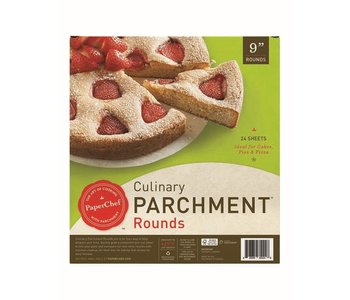"""Parchment Pre-Cut 9"""" Rounds PaperChef"""