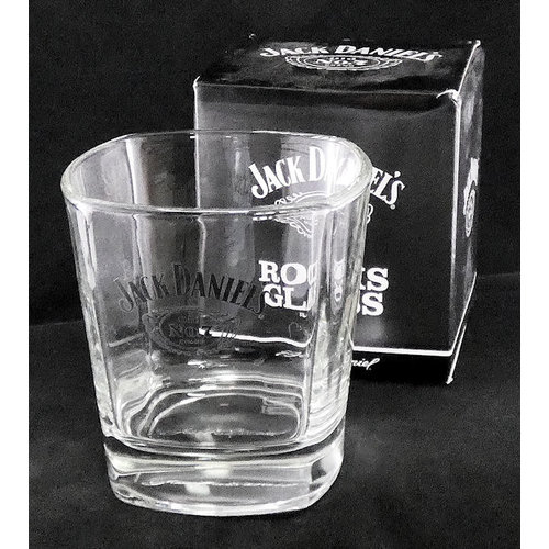 JL Bradshaw Jack Daniels #7 Whiskey Glass
