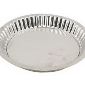 """PORTUGAL IMPORTS TIN PIE PAN WITH REMOVABLE BOTTON - 8.75"""""""
