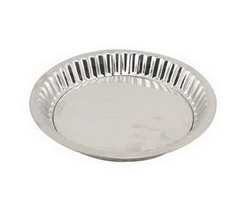 "TIN PIE PAN WITH REMOVABLE BOTTON - 8.75"""