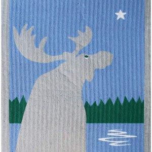 Swedish Cloth Swedish cloth moose at the lake