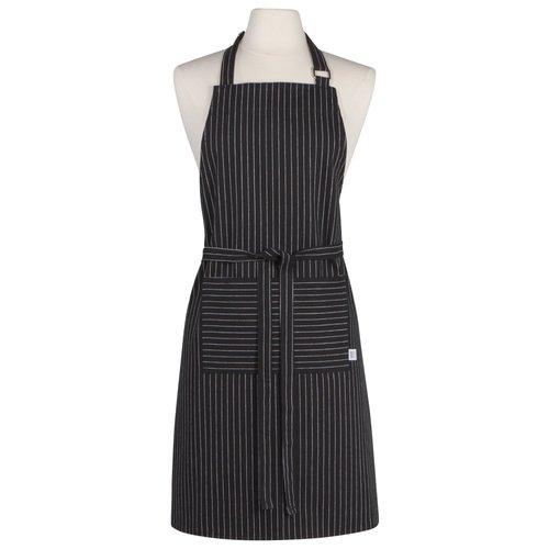 Now Designs Apron Chef Chef Stripe Black