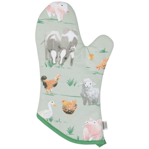 Now Designs Mitts Classic Patterned Farmhouse