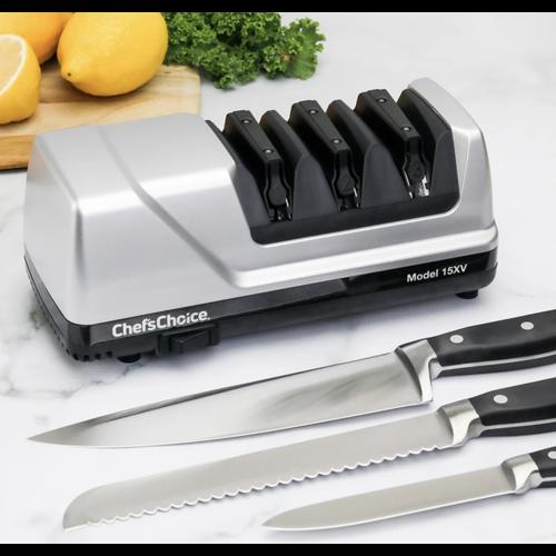 Edgecraft CHEFS CHOICE KNIFE SHARPENER 15XV Platinum