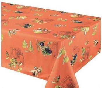 "Tablecloth Poly 58""X78"" Primo Orange"