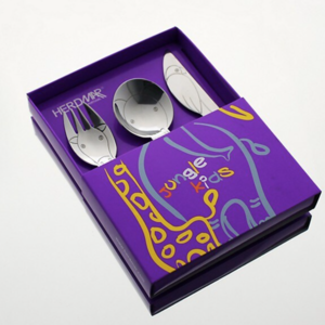 Herdmar Children Cutlery Set Jungle Baby