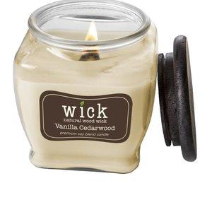Wick Wood Wick Vanilla Cedarwood 15oz