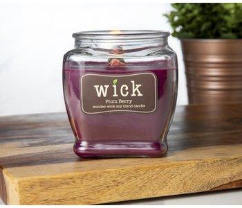 Wood Wick Plum Berry 15oz