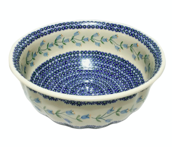Bowl Salad Scalloped 29.5 cm Trailing Lily