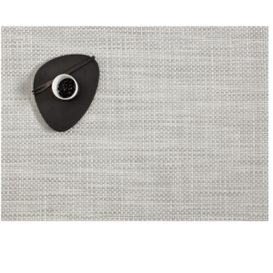 Chilewich Placemat Basketweave White/Silver