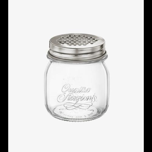 TRUDEAU QUATTRO STAGIONE Jar with Grater Lid 8.5 oz.