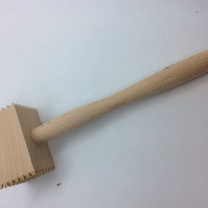 Catering Line Meat Tenderizer Wood Mallet