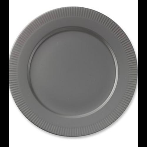PILLIVUYT PILLIVUYT PLISSE Grey Dinner plate European