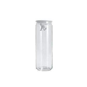 Alessi ALESSI Gianni Glass Storage Jar 2 L. w/Lid WHITE