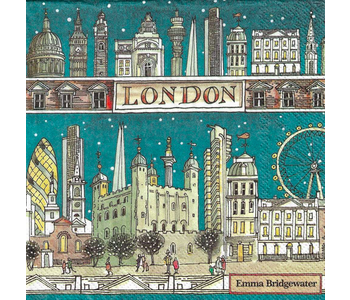 Napkin Lunch Paper LONDON AT NIGHT