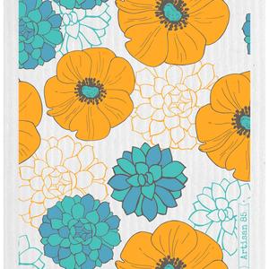 Swedish Cloth Swedish Cloth Flower Garden Saffron
