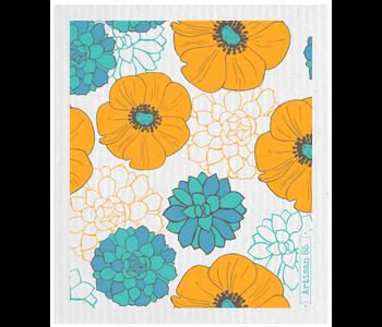 Swedish Cloth Flower Garden Saffron