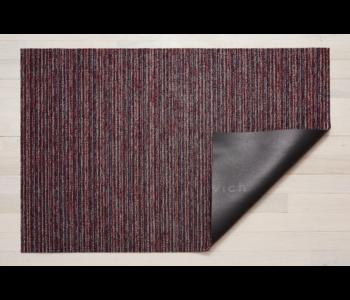 Big Mat Skinny Stripe Shag MULBERRY - 36 x 60 inches