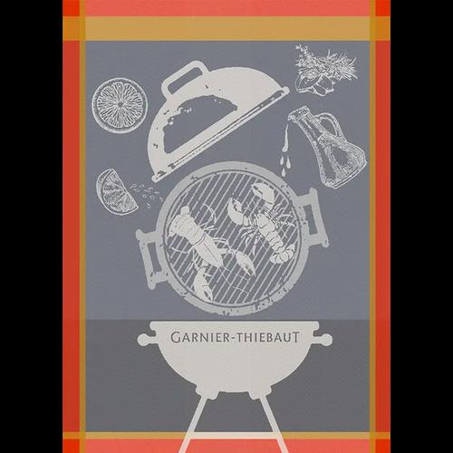 Garnier Thiebaut Garnier Thiebaut Tea Towel Lobster Grill Charcoal