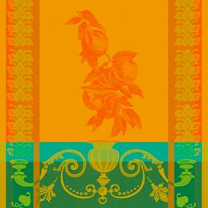 Garnier Thiebaut Garnier Thiebaut Tea Towel Clementines Safran