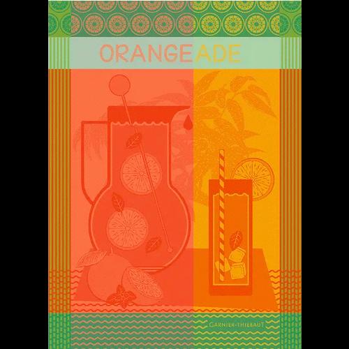 Garnier Thiebaut Garnier Thiebaut Tea Towel Orangeade Maison Agrume