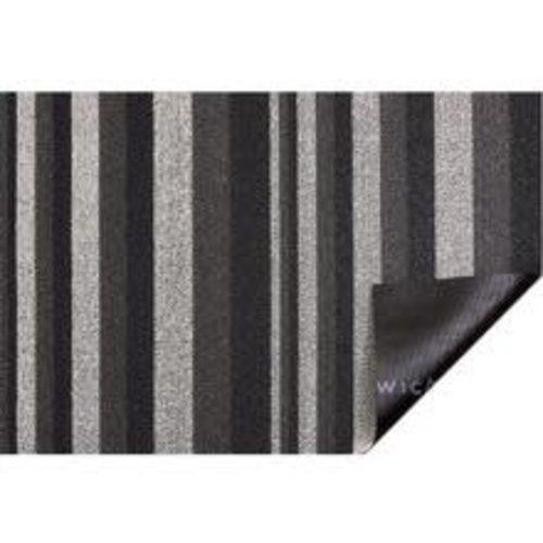 Chilewich Big Mat Bounce Stripe Shag MOONLIGHT -36x60 inches
