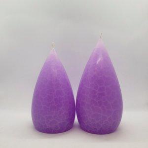 Barrick Design Candle Stout Crackle Lilac