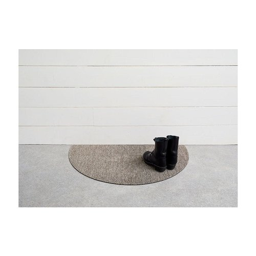 Chilewich Welcome Mat Heathered Shag PEBBLE 21 x 36 inches