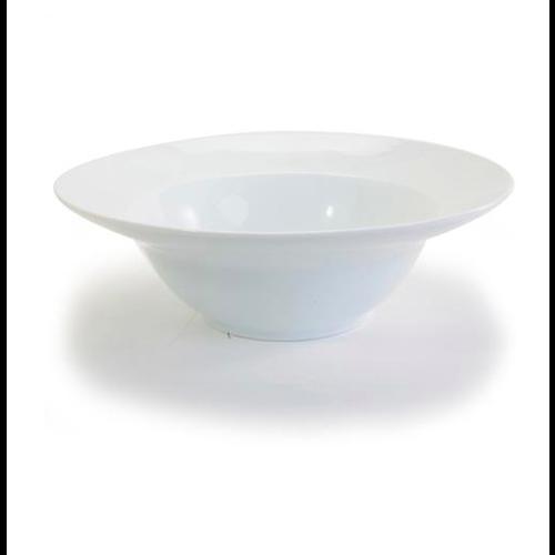 Danesco Wide Rim Deep Pasta Bowl 9 ins. White