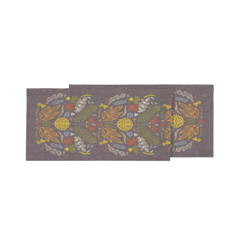 Danica Table Runner Autumn Glow Print 72 inches