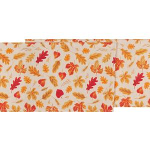 Danica Table Runner Autumn Harvest Print 72 inches