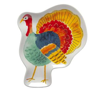 Danica Harvest Turkey Shaped Dish