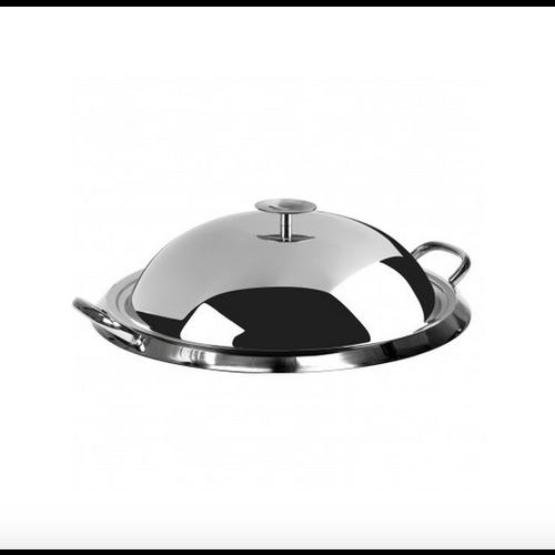 Cristel USA Inc. CRISTEL Grill Plancha S/S 13.4 ins. w/Graphite Lid