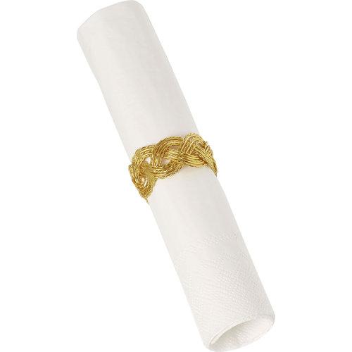 IHR Napkin Ring Bone GOLD
