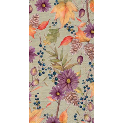 Carsim Napkin/Guest Towel Paper ANETT LIGHT GREEN