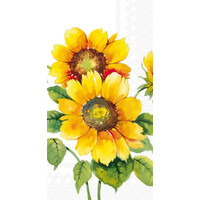 Napkin/Guest Towel Paper COLOURFUL SUNFLOWERS