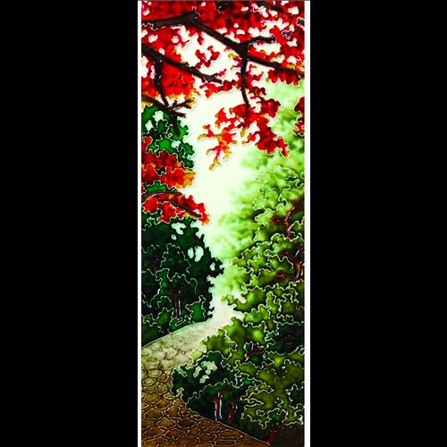 """Benaya Handcrafted Art Decor TILE - The Turning II - 6"""" x 16"""""""