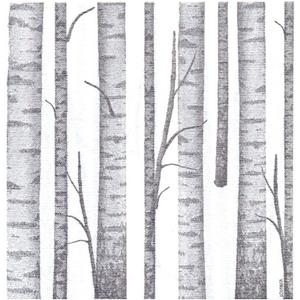 OCD Napkin Cocktail PAVIOT Wood Grey