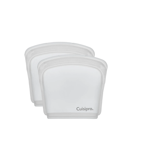 Cuisipro CUISIPRO 200ml Silicone Pack-it Bag/ Set of 2 -CLEAR