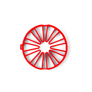 Cuisipro CUISIPRO Silicone Dual Trivet RED
