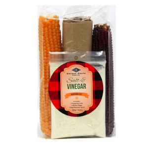 Premier Gift Salt and Vinegar Popcorn Set