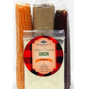 Premier Gift Sour Cream and Onion Popcorn Set