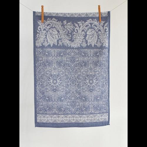 Linenway Tea Towel Carmen Navy Blue
