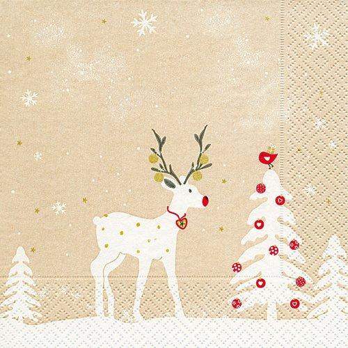 OCD Napkin Lunch Paper Cute Deer