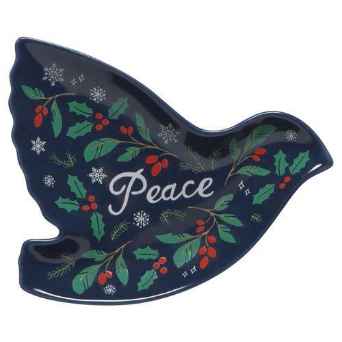 Danica SHAPED DISH - PEACE & JOY/ SET OF 3