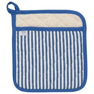 Danica Pot Holder Superior Narrow Stripe Blue